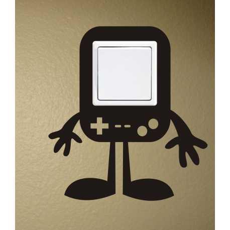 Gameboy pod vypínač