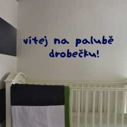 Písmo Nini - dětské samolepky na zeď