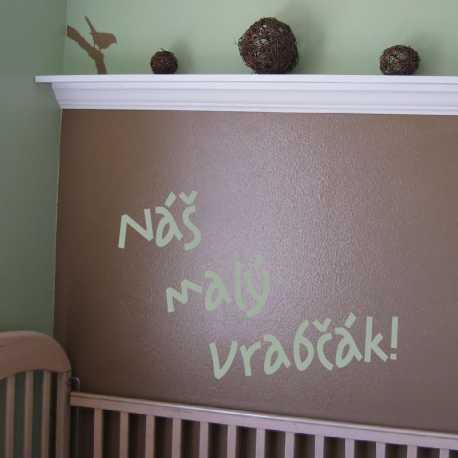 Písmo Amazon - dětské samolepky na zeď