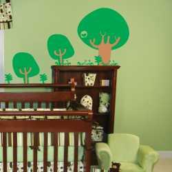 samolepka do dětského pokoje - Les