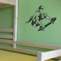 Samolepící dekorace na stěnu Skateboard