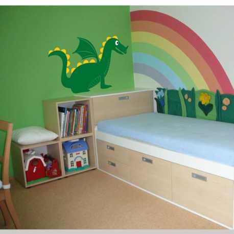 Samolepící dekorace Pohádkový drak