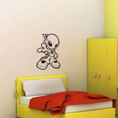 Samolepící dekorace Tančící ufoun