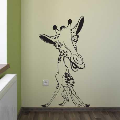 Samolepící dekorace Žirafák