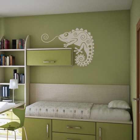 Samolepící dekorace Chameleon 2