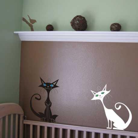 Samolepící dekorace Kočky