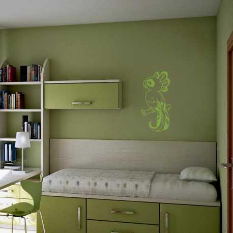 Samolepící dekorace Papoušek