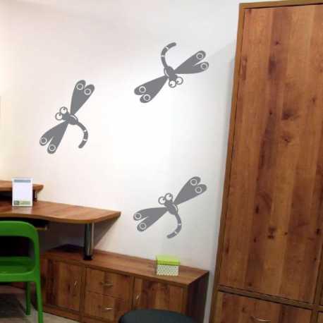 Samolepící dekorace Vážky