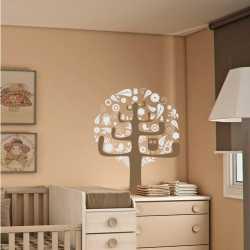 Samolepící dekorace Ptačí strom