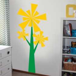 Samolepící dekorace Strom nebo větrník