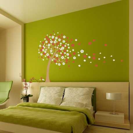 Samolepící dekorace Kvetoucí strom