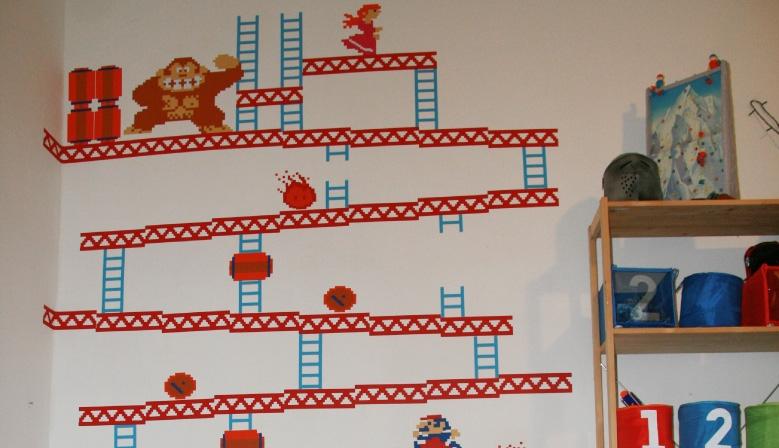 Samolepky na zeď pro děti